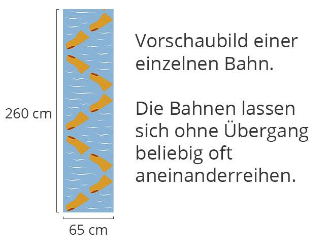Designtapete Schwimmflossen In Orange Haben Saison