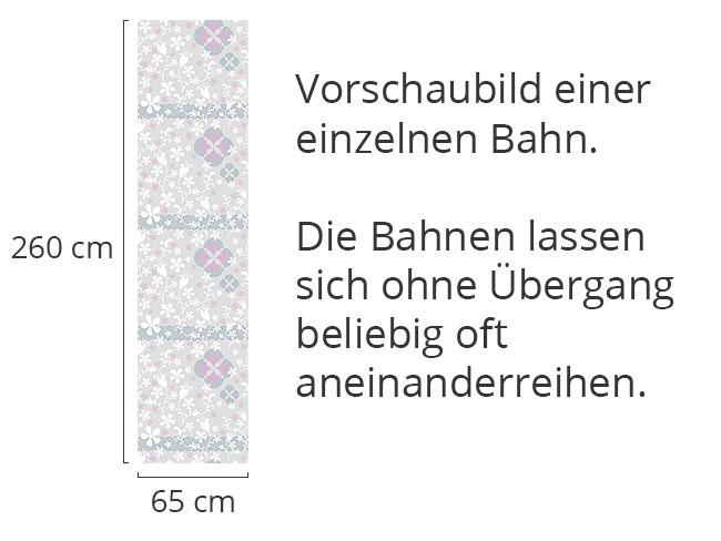 Designtapete Floras Märchenreich