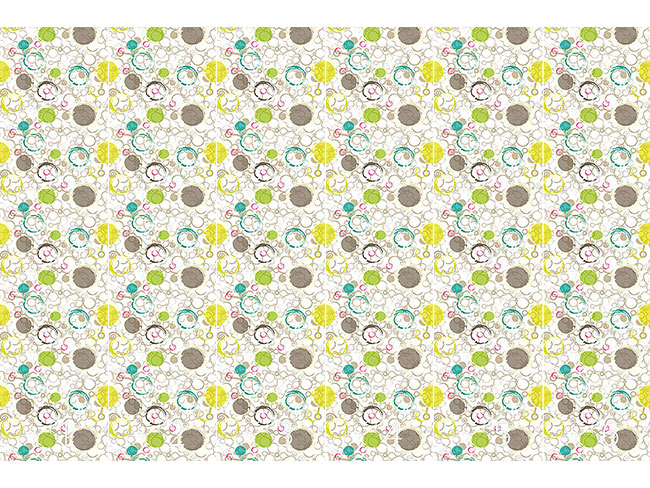 Designtapete Frühling Zieht Kreise
