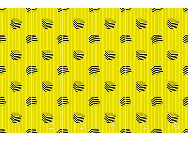 Designtapete Lakritz Lemon