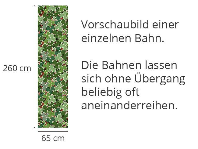Designtapete Kleeglück
