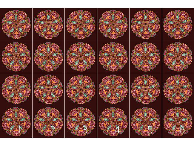 Designtapete Das Mandala Der Maharani