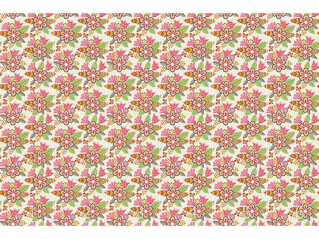 Designtapete Sommer Blumen