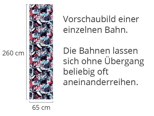 Designtapete Scherbenmeer