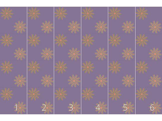 Designtapete Sonnentanz Blumen
