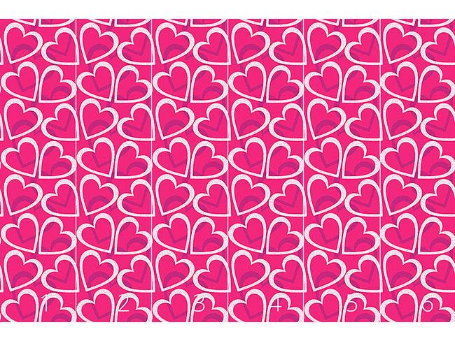 Designtapete Love Love Love