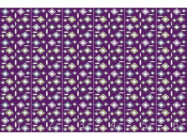 Designtapete Geometrischer Realismus
