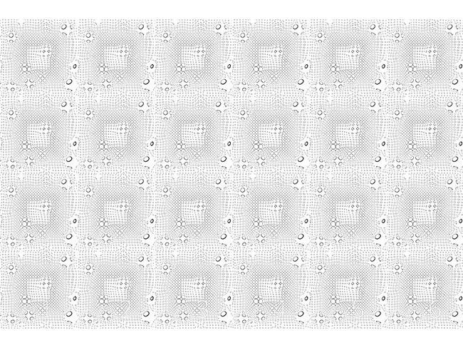 Designtapete Netzwerk Der Kreise