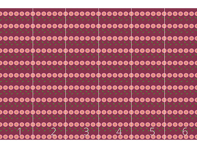 Designtapete In Voller Blüte