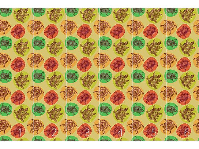 Designtapete Schildkröten Der Weltmeere