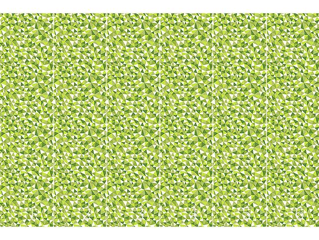 Designtapete Frühlingsgeometrie
