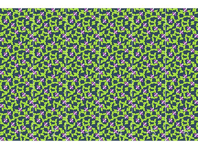 Designtapete Frühling Im Sudoku Beet