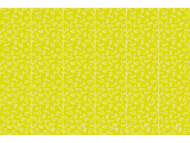 Designtapete Lena Malt Blumen