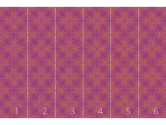 Designtapete Geometrische Expression