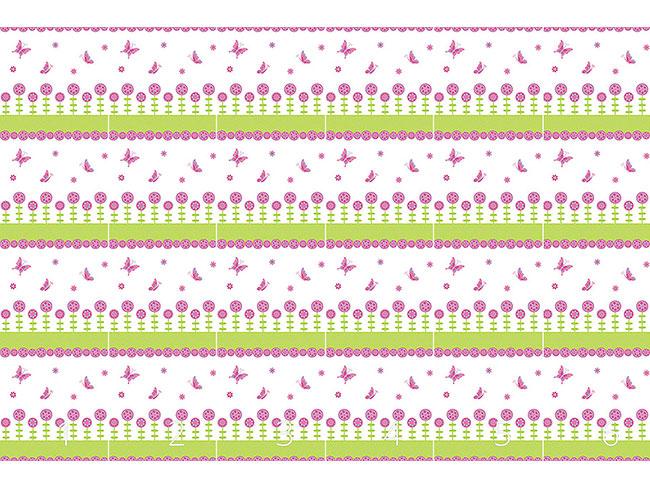 Designtapete Schmetterling Freuden