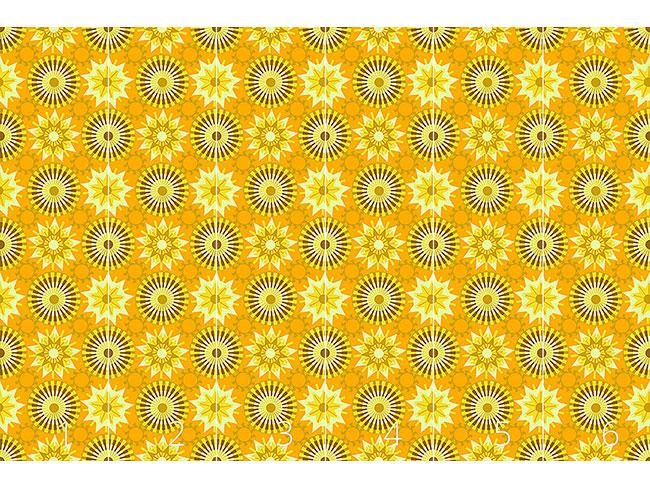 Designtapete Kreise Im Sonnenlicht