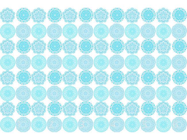 Designtapete Jodhpur Kaleidoskop