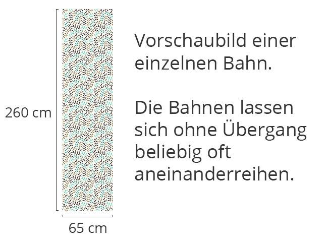 Designtapete Blattwerk Bohemien Im Winter