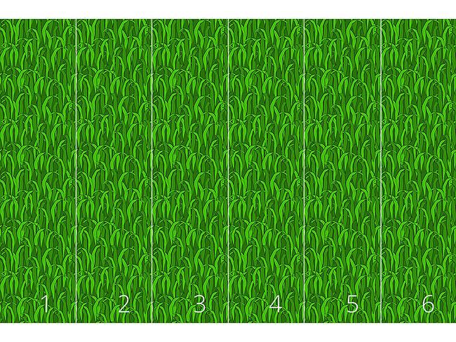 Designtapete Im Grünen Gras
