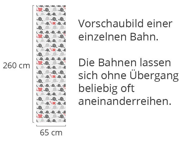 Designtapete Auch Schnecken Lieben