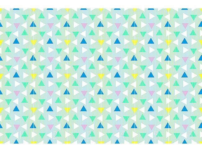 Designtapete Dreiecke Aus Den Achzigern