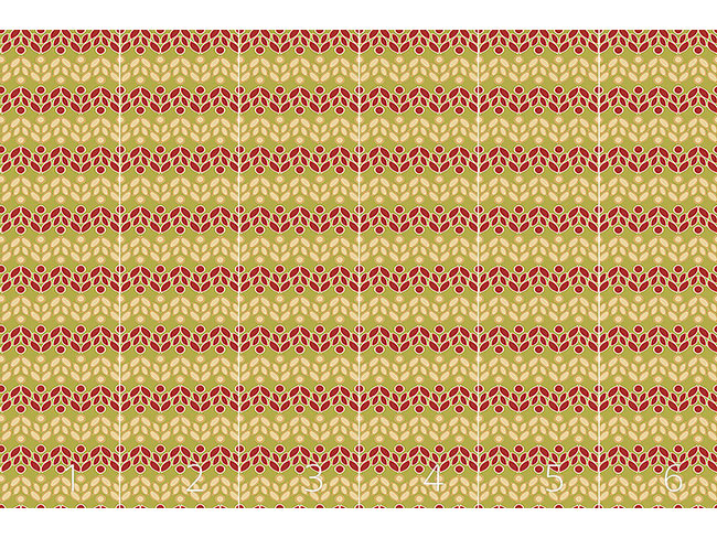 Designtapete Florale Belebung