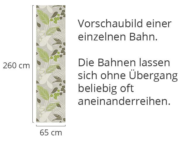 Designtapete Grauer Waldboden