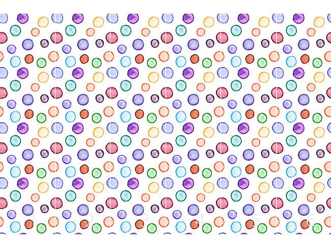 Designtapete Wasserfarben Punkt Com