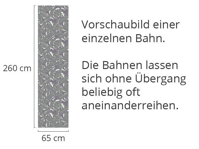 Designtapete Die Kunst Des Fussabdruckes