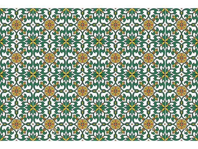 Designtapete Espana Floral