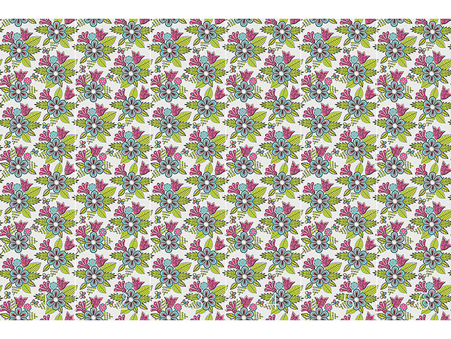 Designtapete Süsses Blumen Bouquet