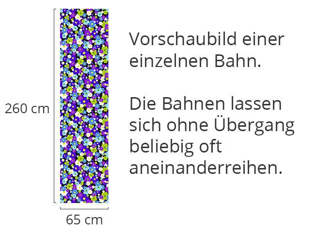 Designtapete Blumentraum Im Retrokleid