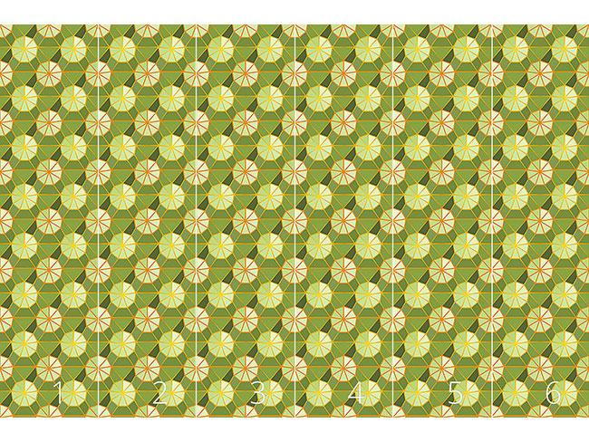 Designtapete Sonnenschirme Gartenfrisch