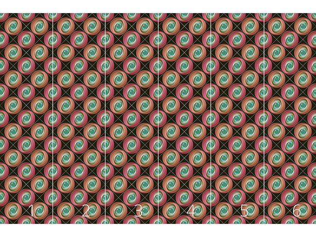 Designtapete Abstrakte Kreise