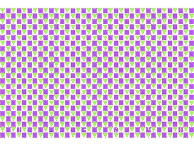 Designtapete Kleine Dreiecke