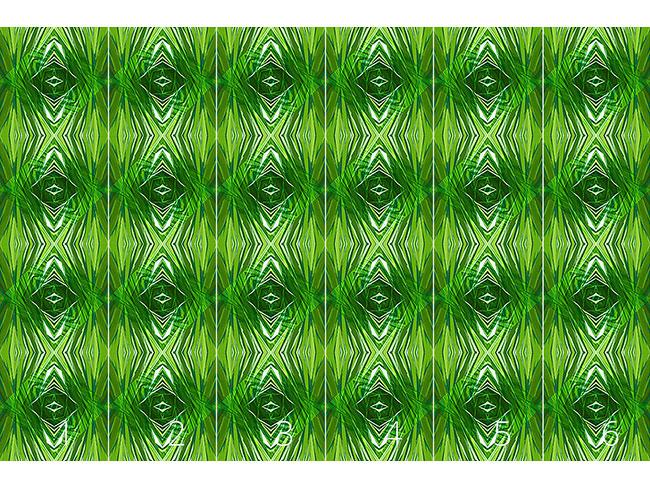 Designtapete Kristall Dschungel