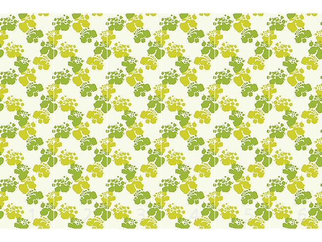 Designtapete Spuren Des Frühlings