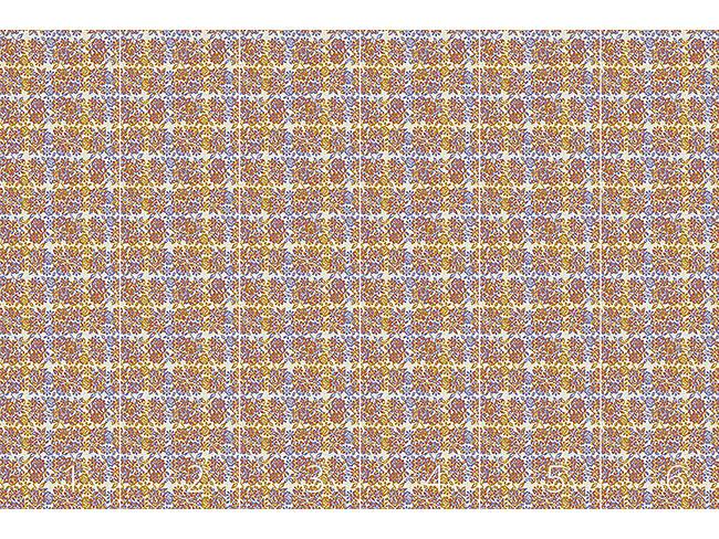 Designtapete Pixel Rosen