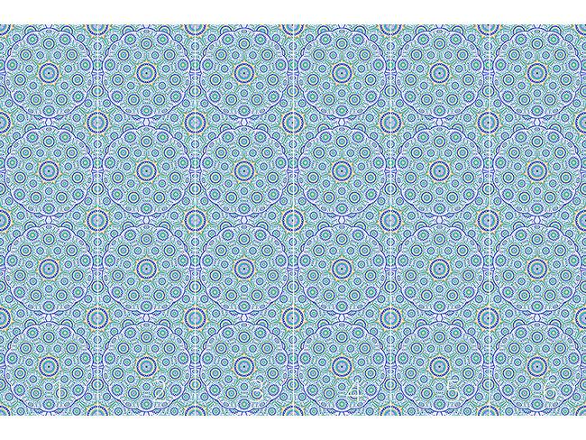 Designtapete Geometrisches Mandala