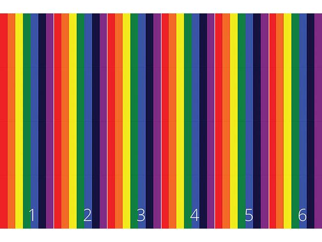 Designtapete Heilender Regenbogen