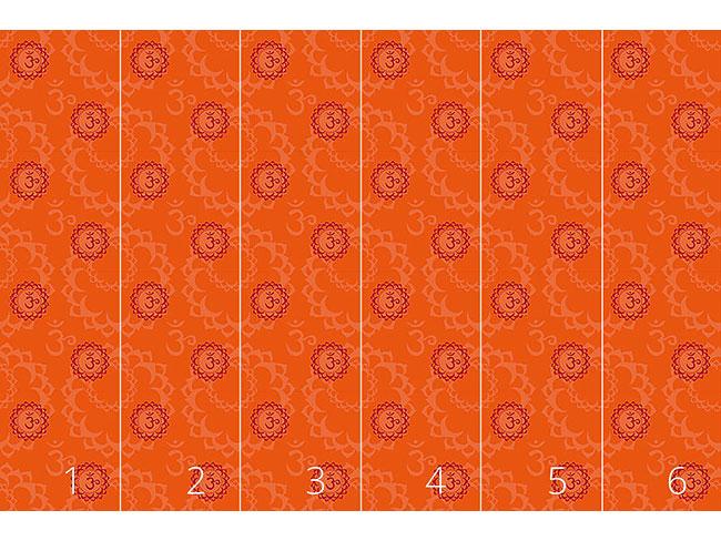 Designtapete Oranges Om