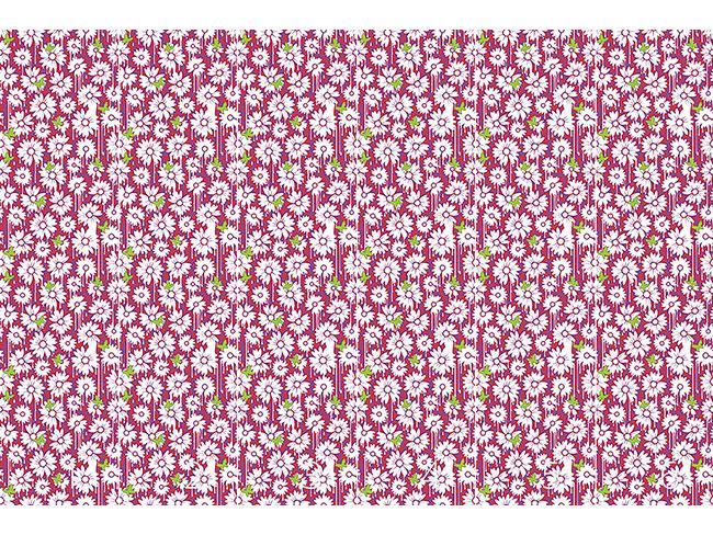 Designtapete Gemalte Gänseblümchen
