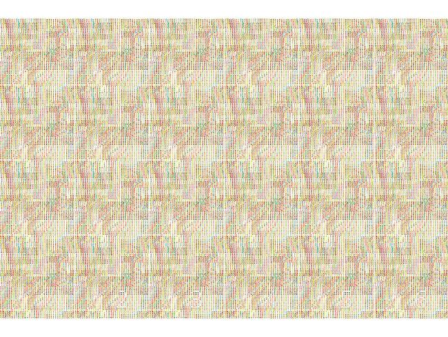 Designtapete Pixel Flimmern