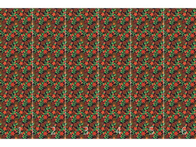 Designtapete Die Nacht Der Wilden Erdbeeren