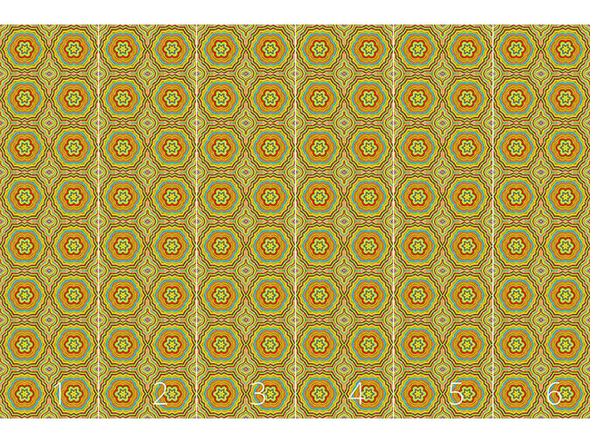Designtapete Herbst Kaleidoskop