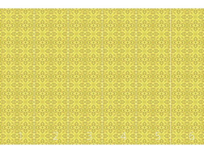 Designtapete Die Geometrie Des Sonnenkönigs