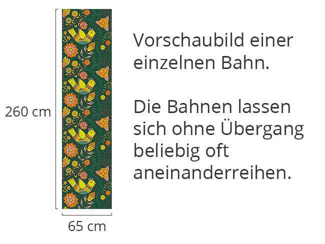 Designtapete Das Blumenlied Der Nachtigall