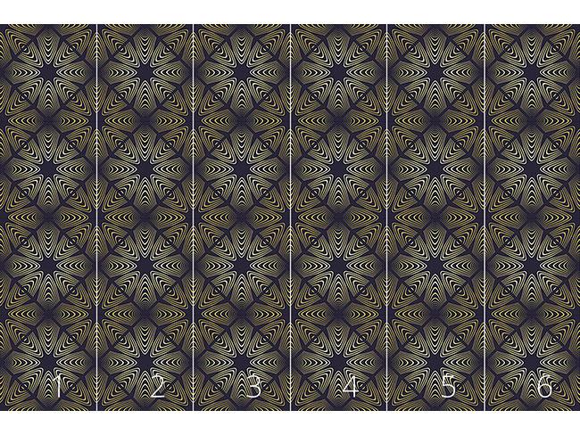 Designtapete Florale Dimension