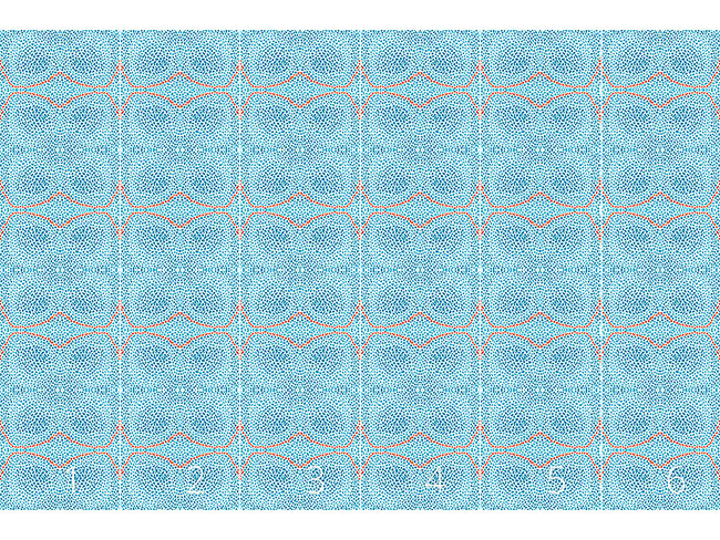 Designtapete Spuren Unter Wasser