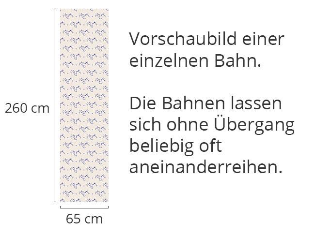 Designtapete Hirsch Und Herz